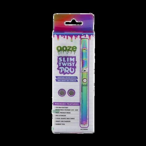 Ooze Slim Twist Pro Rainbow Dual Atomizer