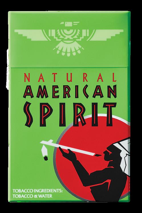 Am Spirit 154 - Green - Menthol Mellow Taste