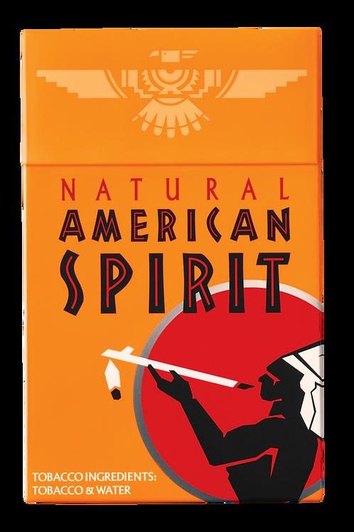 Am Spirit 338 - Orange - Smooth Mellow Box