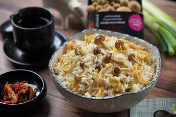 ข้าวอบเห็ดชิเมจิ Exclusive Recipes by Tops