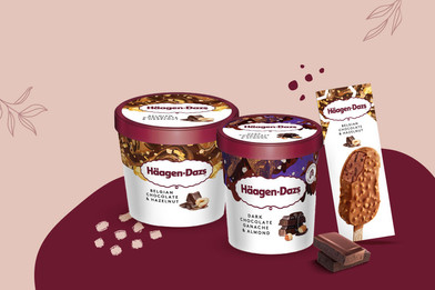 อร่อยฟินกับไอศกรีมฮาเก้นดาส 2 รสชาติใหม่ต้อนรับลมหนาว