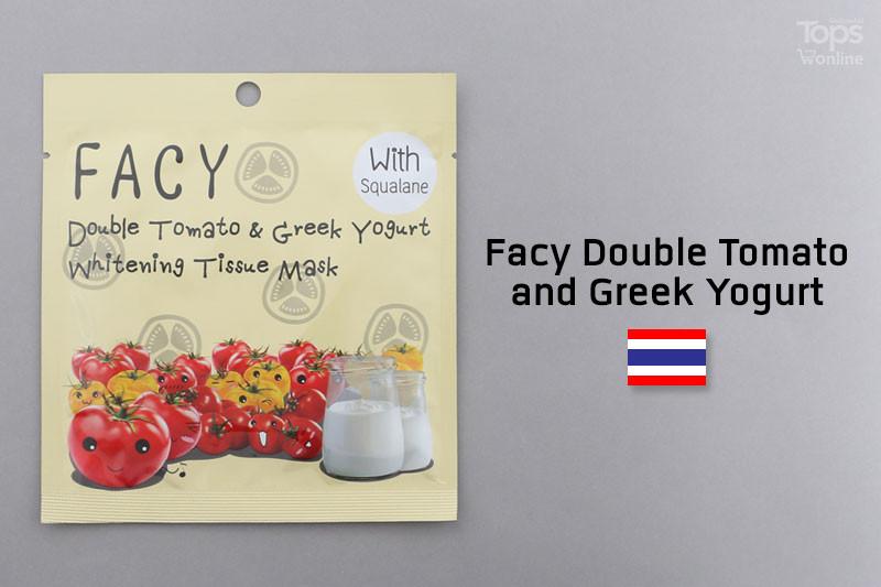 Facy Double Tomato and Greek Yogurt