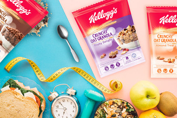 Kellogg's Granola ขนมเทรนด์ใหม่ เพื่อสุขภาพดี