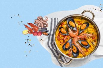 ชวนชิม ปาเอญ่า ข้าวผัดสเปนแสนอร่อย