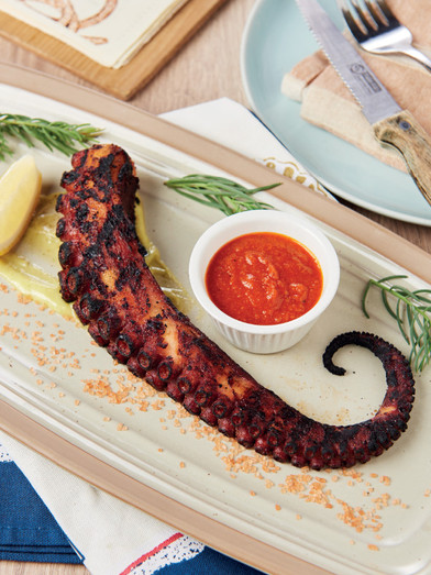 Recipe : Grilled Octopus