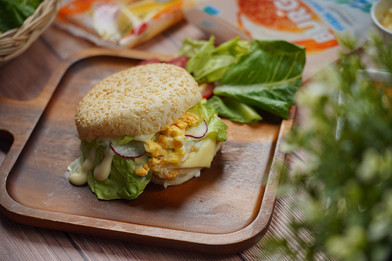 Morning Fish Cheese Burger Easy Cooking by Tops