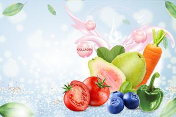 รวมผักและผลไม้เพิ่มสวย เติมคอลลาเจน