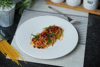 สปาเกตตีปาลาฉ่อง | Fusion Dishes