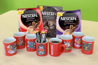 เสริมมงคลวันตรุษจีน ด้วยแก้วกาแฟมงคล จากเนสกาแฟ