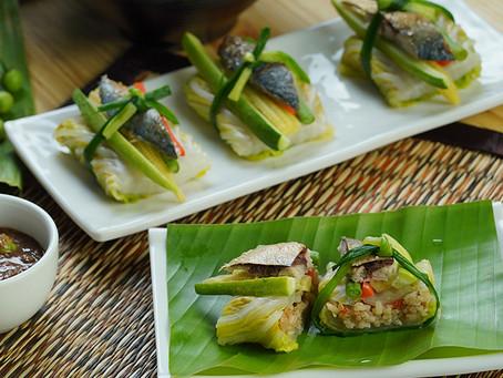 ซูชิข้าวผัดน้ำพริกกะปิ Exclusive Recipes by Tops