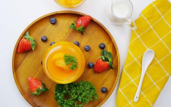 พานาคอตต้าส้ม Easy Cooking by Tops