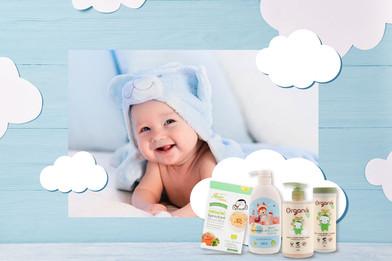 """ผลิตภัณฑ์ """"ออร์แกนิค"""" ทางเลือกที่ดีที่สุดสำหรับลูกน้อย"""