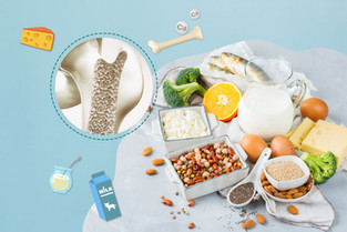 10 อันดับอาหารอุดมแคลเซียมสูง ต้านกระดูกพรุน