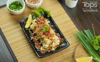 ชิกุวะสอดไส้ชีส Easy Cooking by Tops