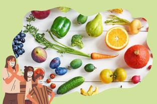 ต้านไวรัสด้วยอาหาร 7 สีดีต่อสุขภาพ