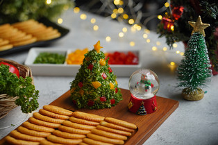 Christmas Cheese Tree Easy Cooking by Tops