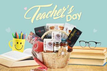 กระเช้าแทนใจ รำลึกคุณครู วันครู 2562