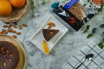 เค้กอัลมอนด์ส้ม Exclusive Recipes by Tops