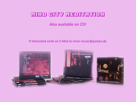 """Mind City Meditation"" is also available on CD!"