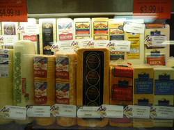 Wide variety of cheese