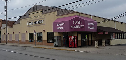 Exterior picture of Coraopolis Cash Market Grocery Store