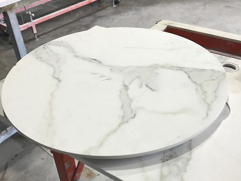 Round Calacatta Table