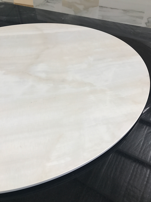 Round Bright Onyx Table