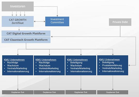 CAT GROWTH Business Model und Dienstleistungen