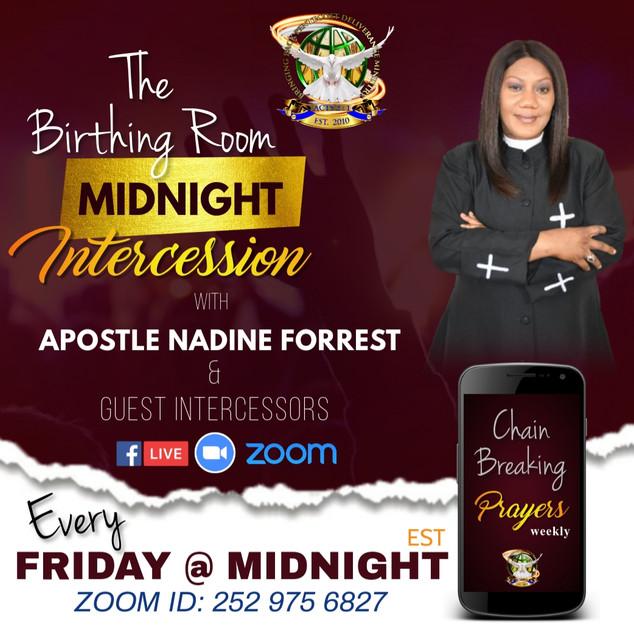 Midnight Prayer Fridays