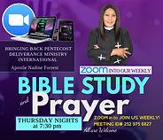 Bible Study Thursdays