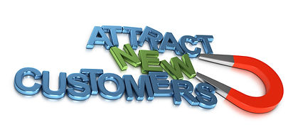 attract new clients and customers