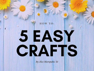 5 Easy Crafts for Kids