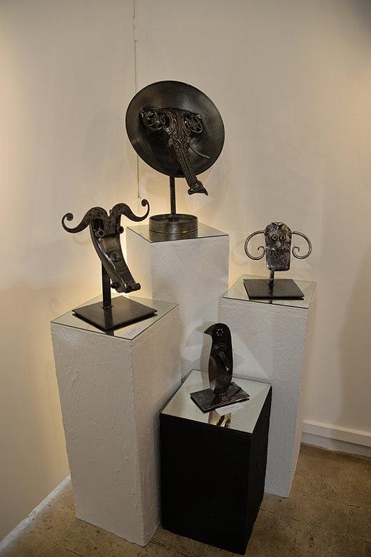 Sculptures groupées-C  Huglo.jpg