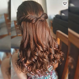I love creating beautiful hair and makeu