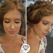 Stunning Hair & Airbrush Makeup on my gi