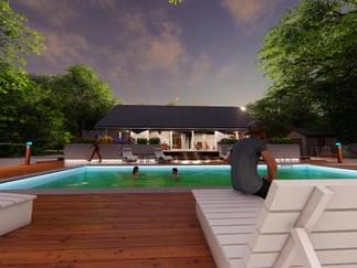 Deck & landscaping - Hamptons