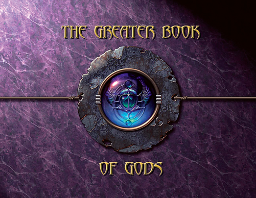 The Greater Book of Gods Cover