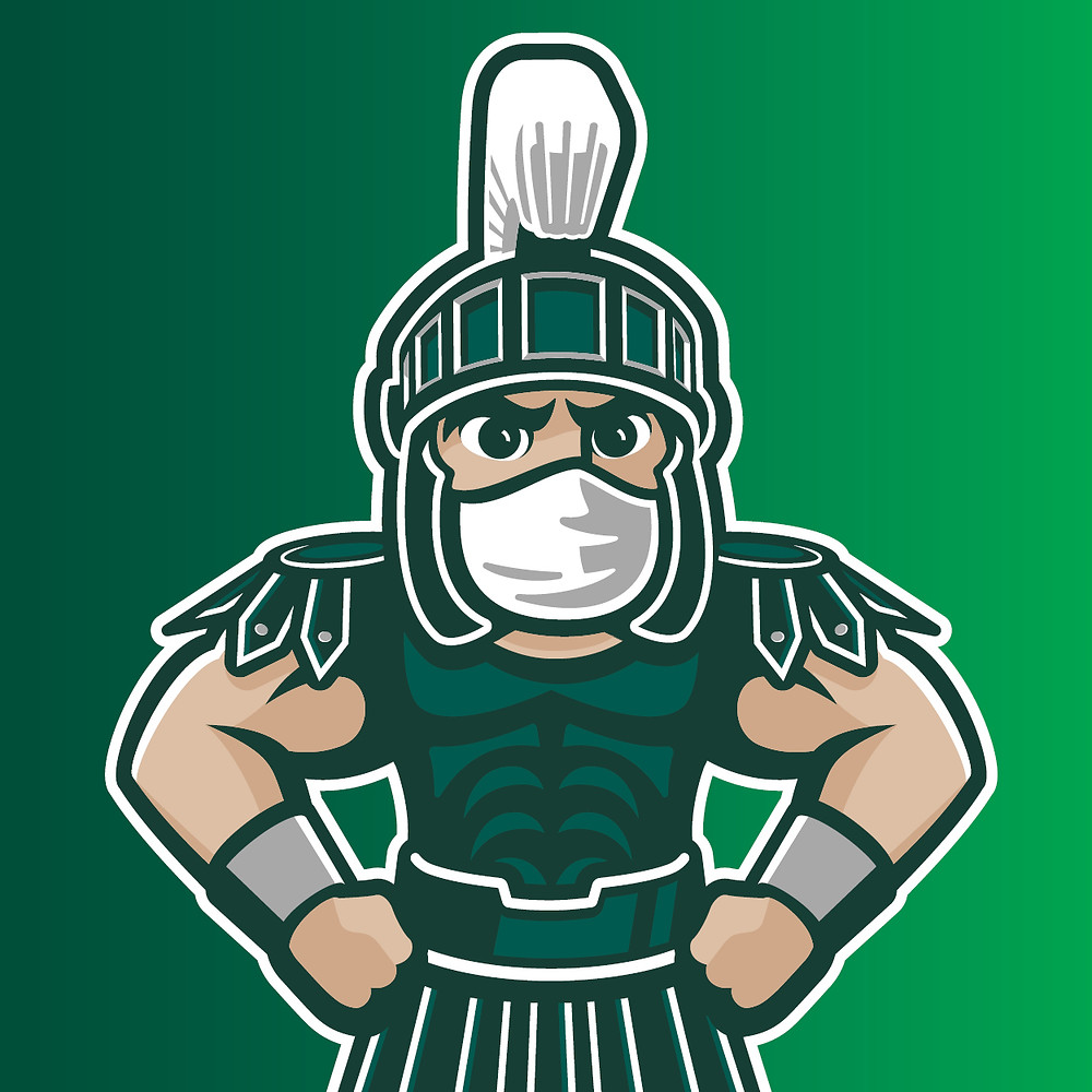 Sparty with a Mask