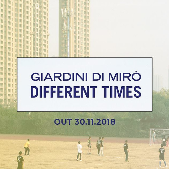 GdM  Different Times Milano