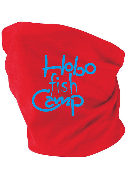 Hobo Fish Camp Neck Gaiters Red
