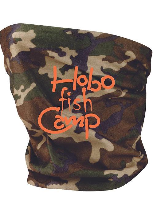 Hobo Fish Camp Neck Gaiters Camo