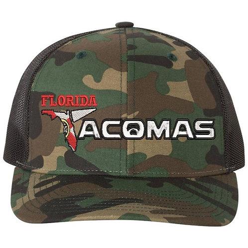 Florida Tacoma's Fitted Camo/Black