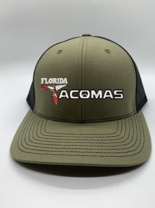 Florida Tacoma's SnapBack LodenGreen/Black
