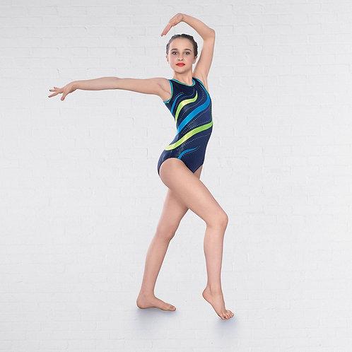 Gymnastics Diamante Sleeveless Leotard