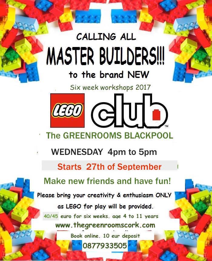 Blackpool Lego Workshop- Wednesday Class