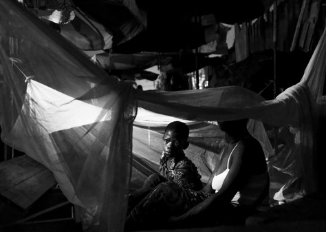 Hodalou et son fils - Reportage Femmes Portefaix - Lomé - Togo