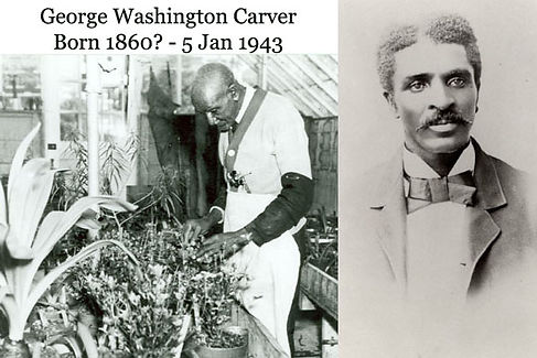 Dr. George Washington Carver,#FarmsToGrow