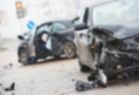 car crash accident on street, damaged automobiles after collision in city.jpg