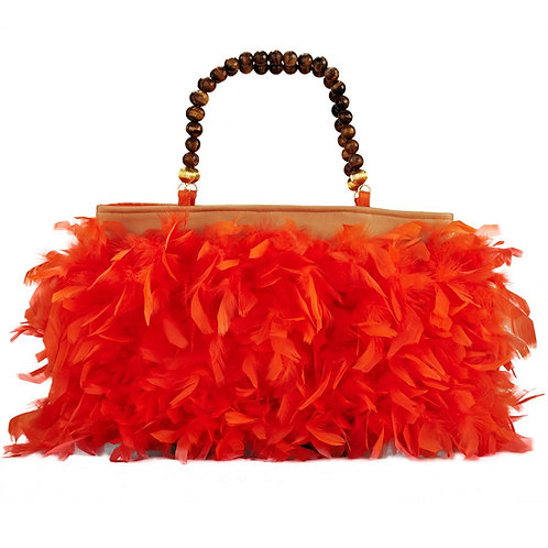 The Glowing Angel - MARY Grande Leather Hangbag