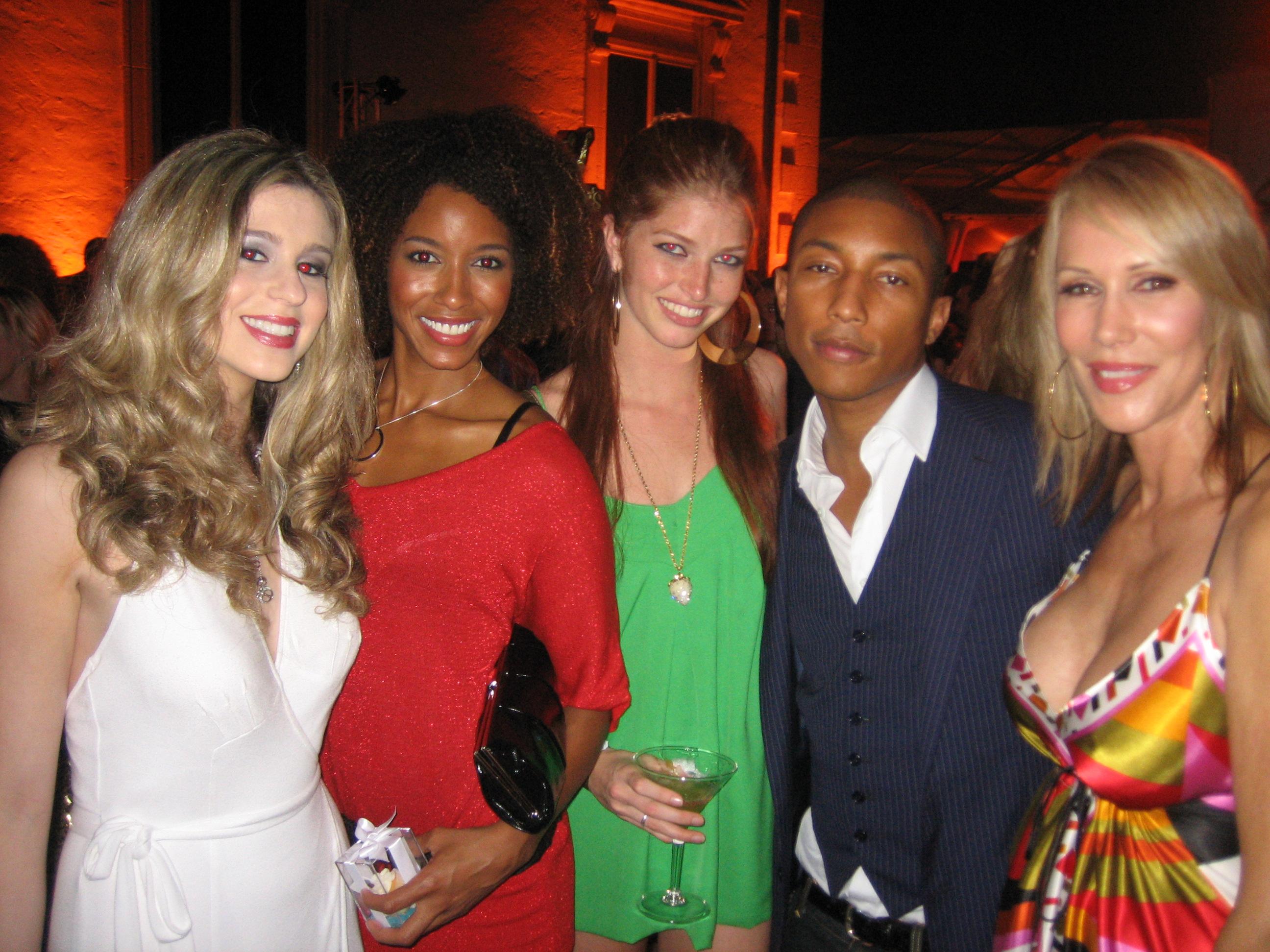 Irene Marie, Pharrell, Heide